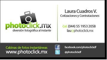 Información de contacto photoclick Distrito Federal