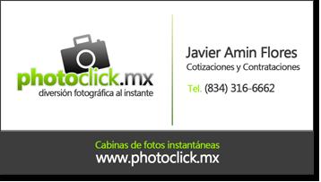 Información de contacto Photoclick Ciudad Victoria